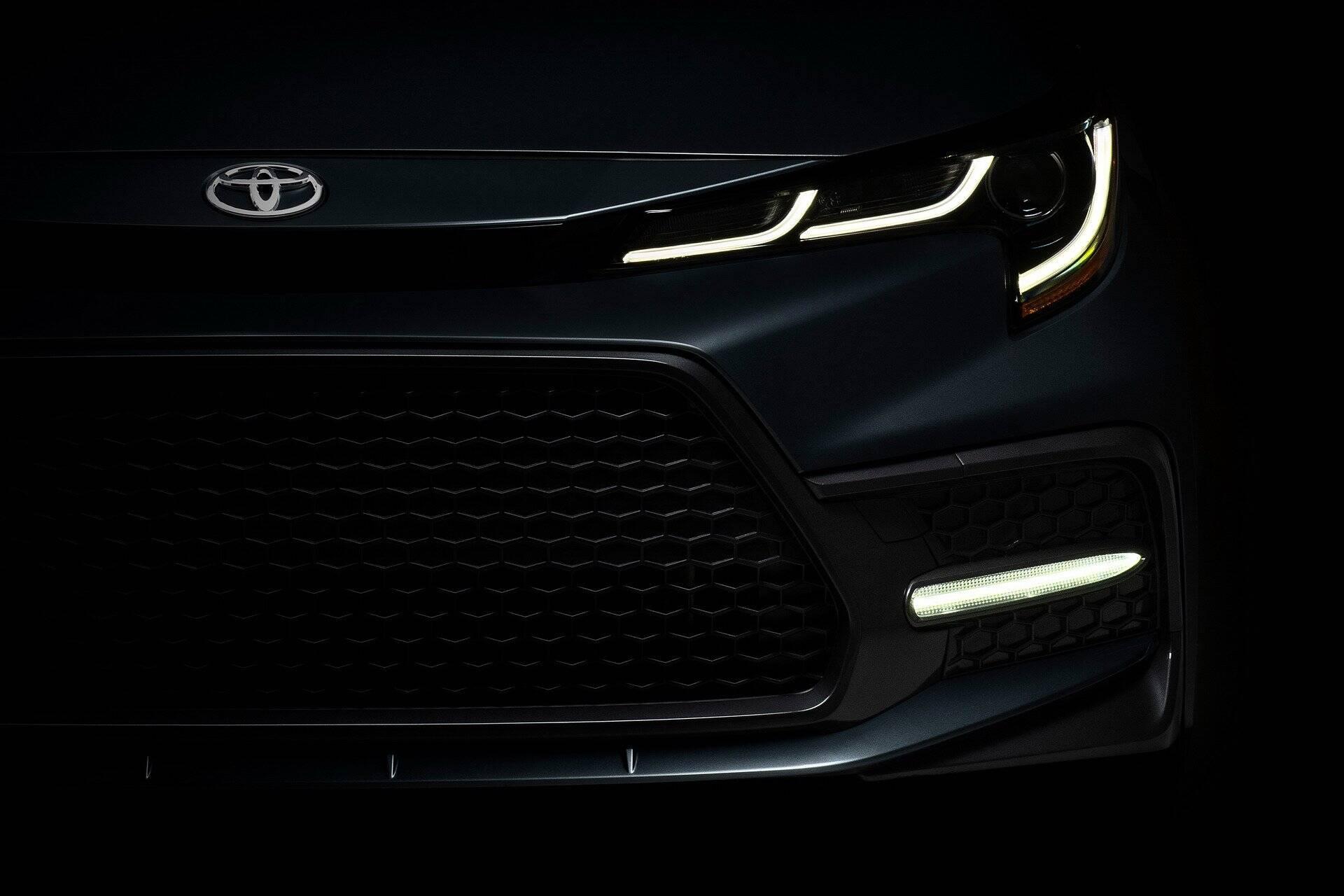 Novo Toyota Corolla. Foto: Divulgação