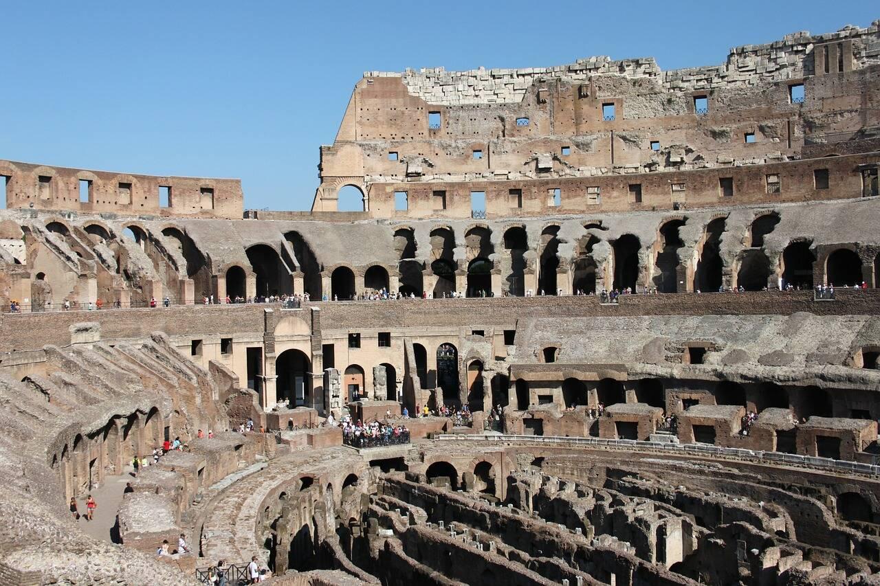 Interior do Coliseu durante tour . Foto: CarlaBron/Pixabay