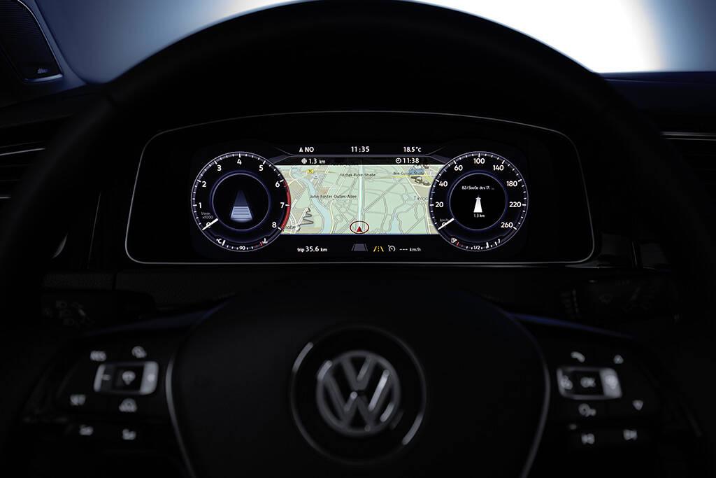 Volkswagen Golf. Foto: Divulgação/Volkswagen