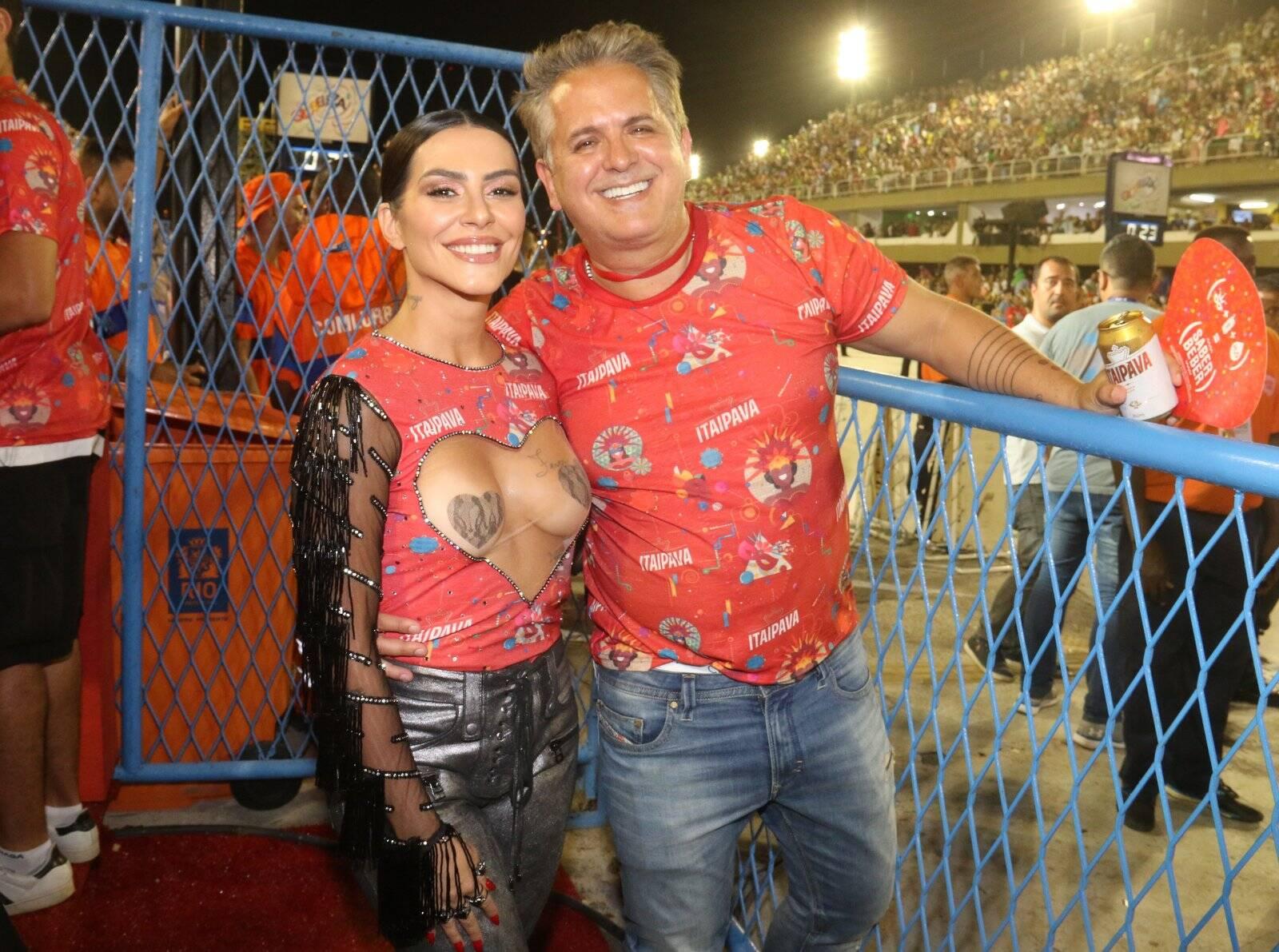 Cleo Pires arrasa no camarote Itaipava com famosos. Foto: Divulgação / Cleomir Tavares