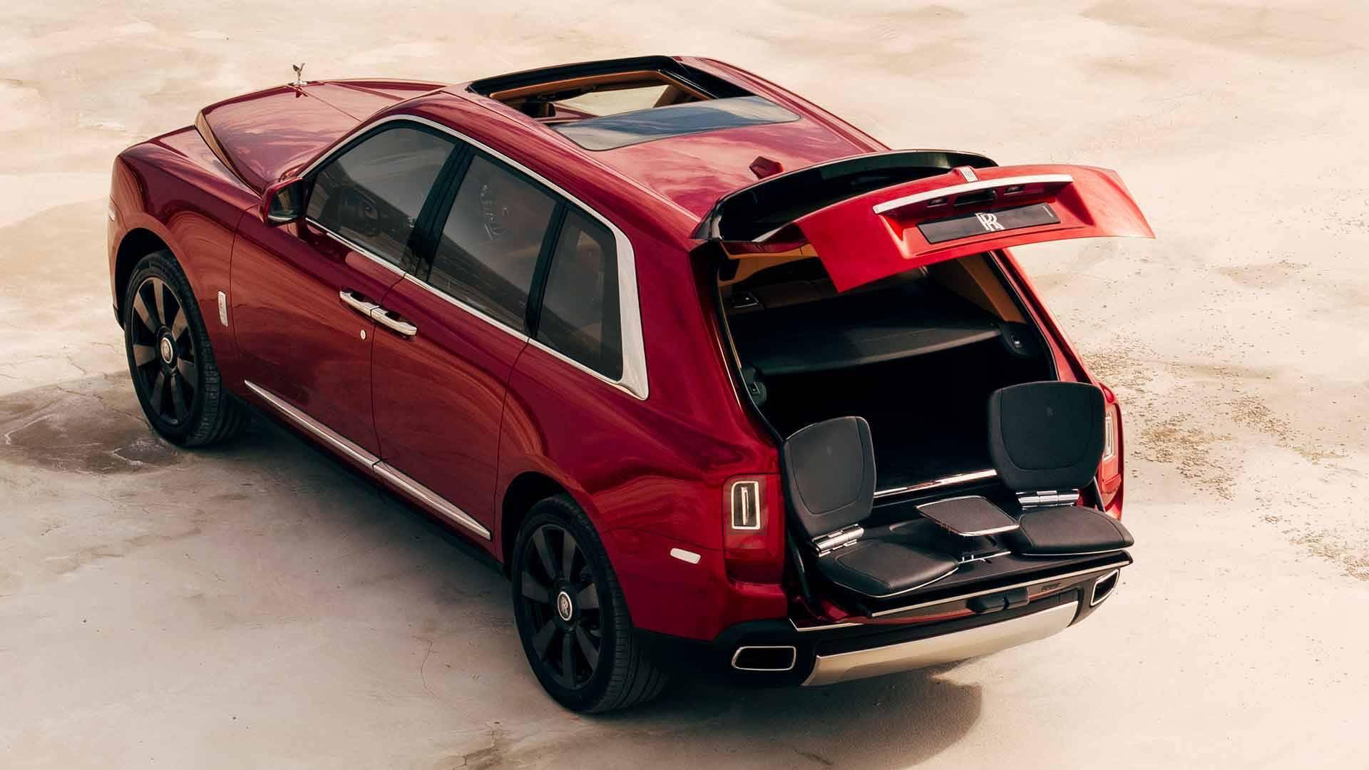 Rolls-Royce Cullinan. Foto: Divulgação