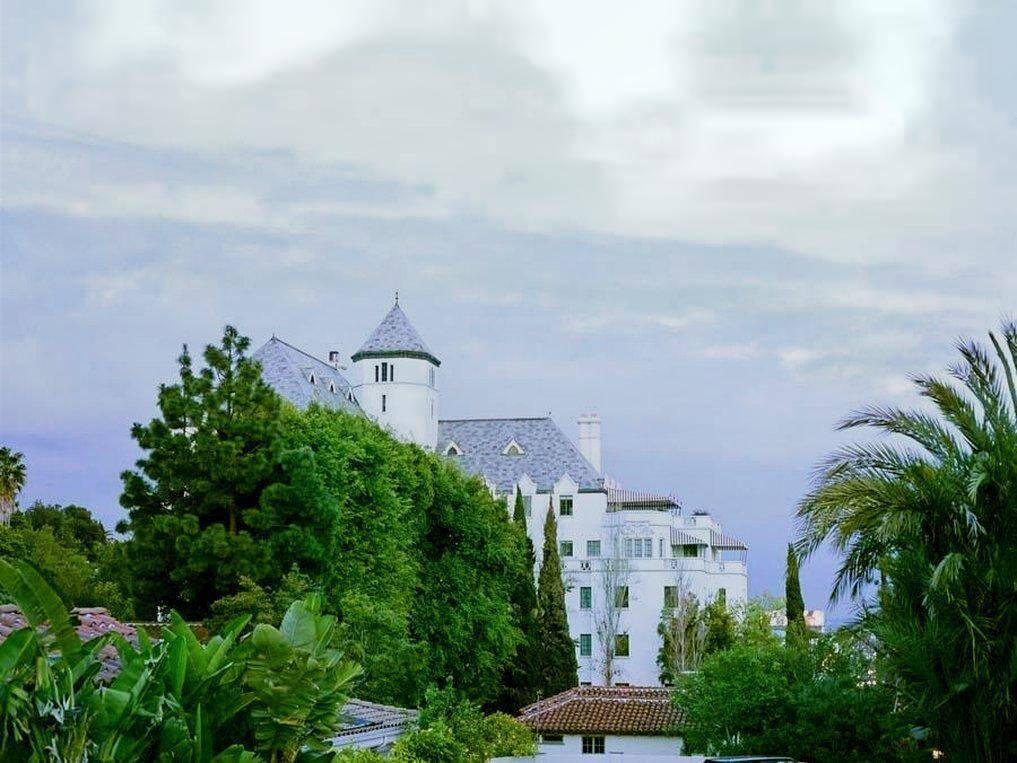 Chateau Marmont, em Los Angeles. Foto: Agoda