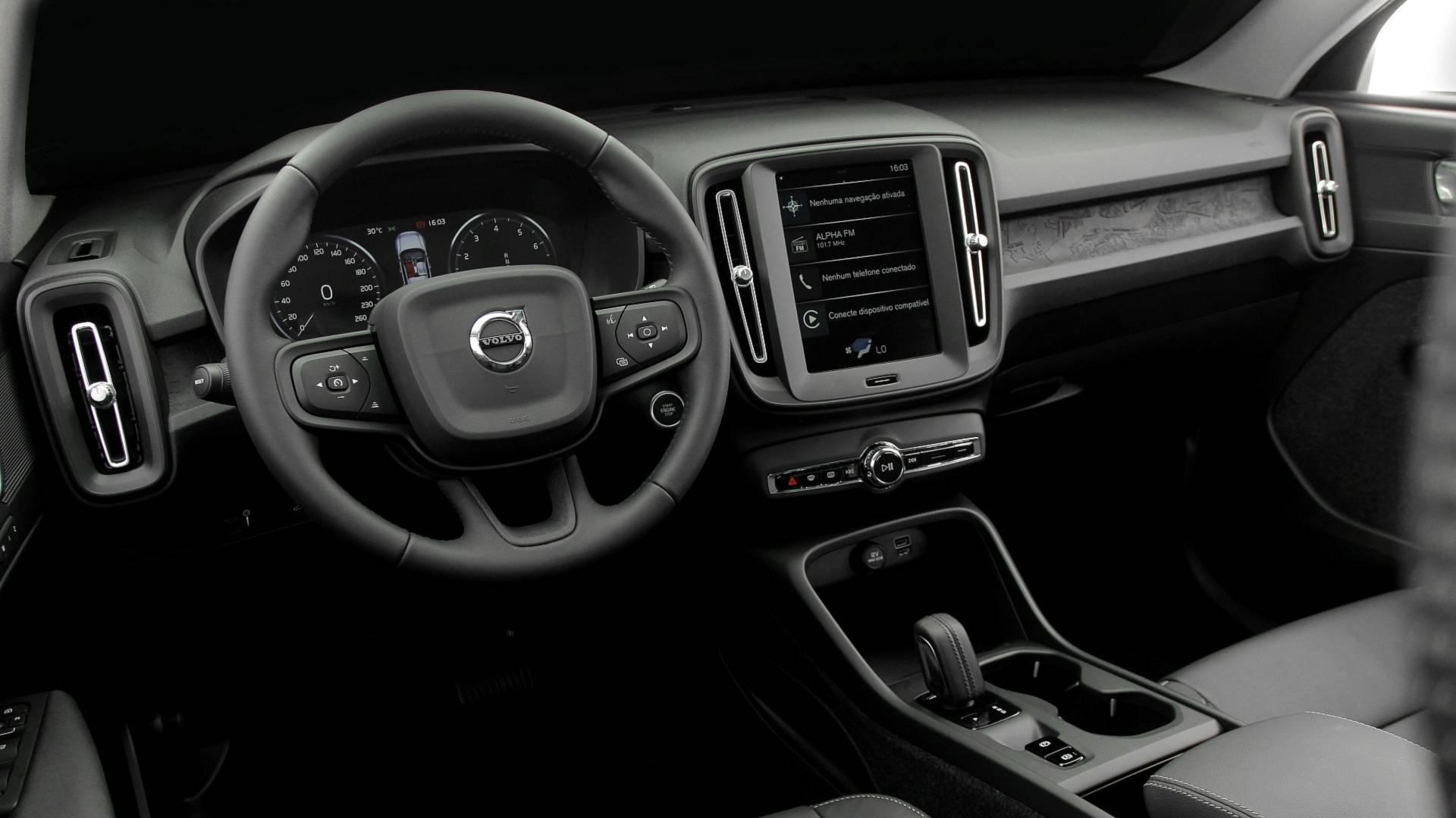 Volvo XC40 T4. Foto: Divulgação