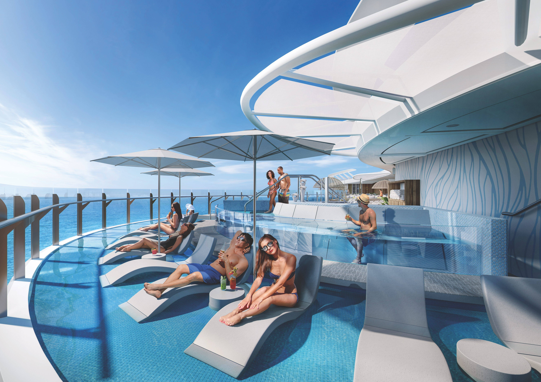 Suite Sun Deck. Foto: Divulgação/Royal Caribbean International
