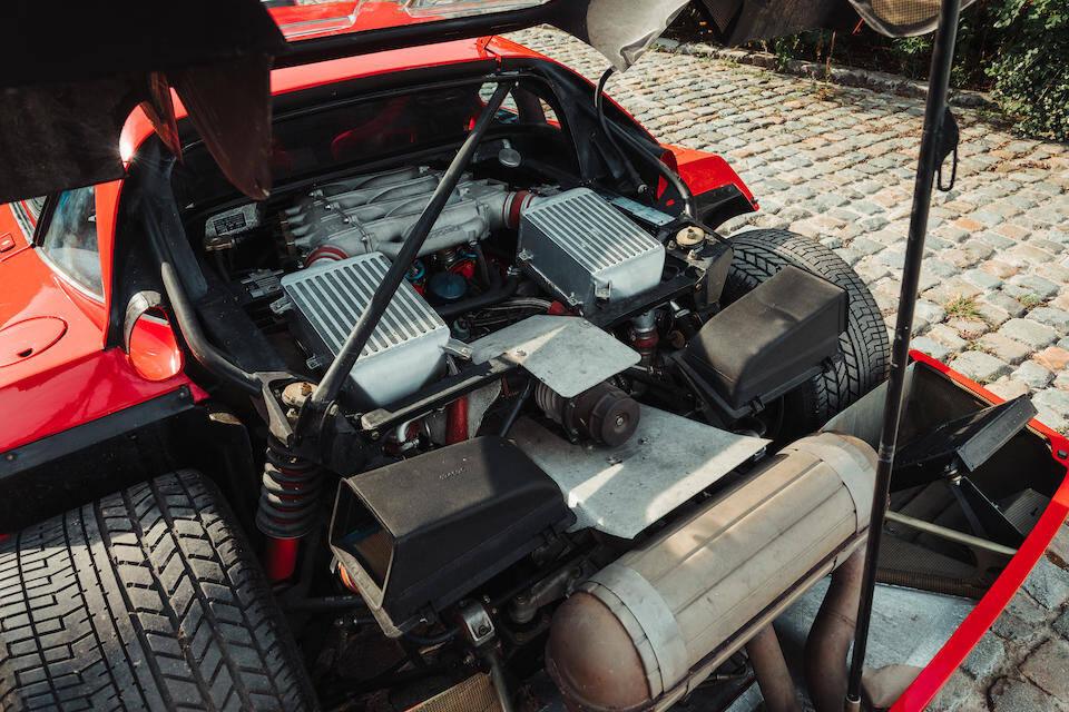 Ferrari F40. Foto: Divulgação