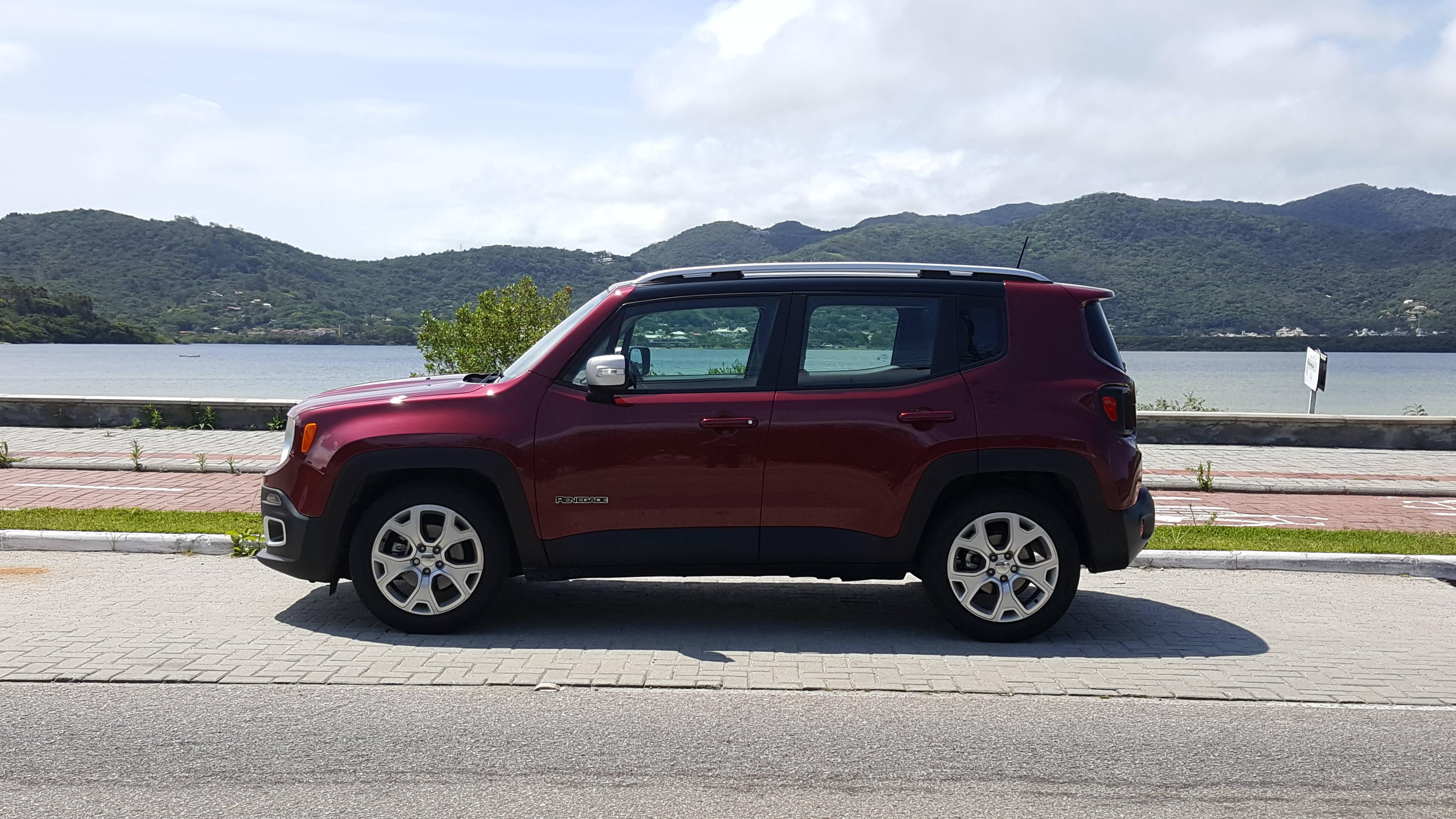Jeep Renegade Limited. Foto: Nicolas Tavares/iG