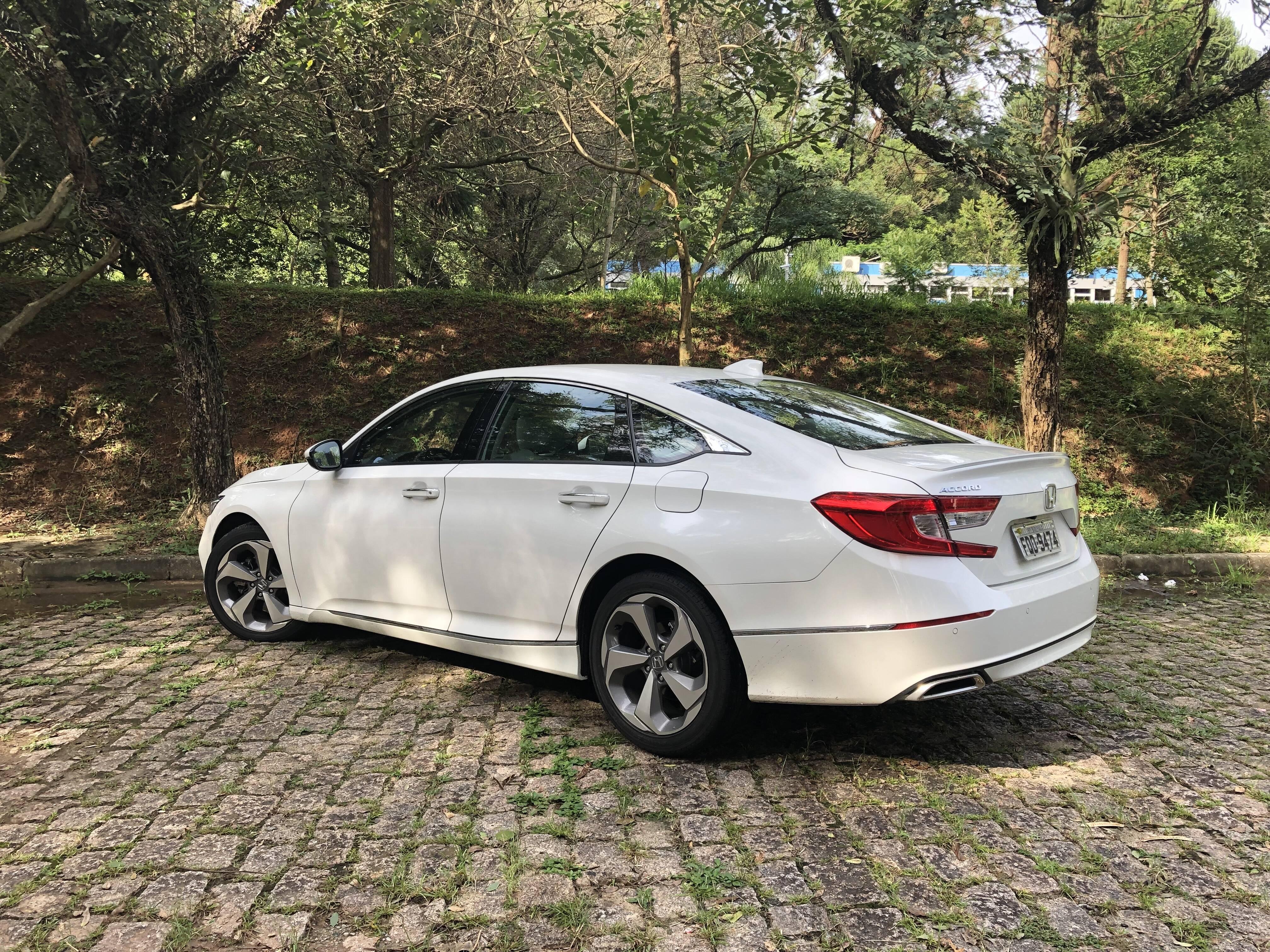 Honda Accord 2019. Foto: Cauê Lira/iG Carros