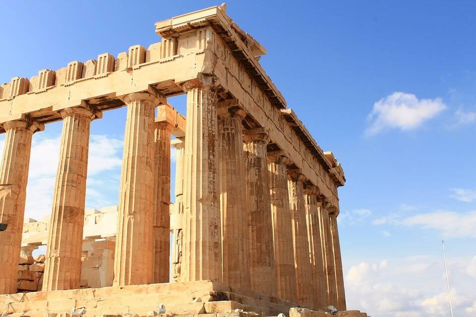 O templo de Partenon é uma das estruturas mais resistentes do mundo . Foto: Pixabay