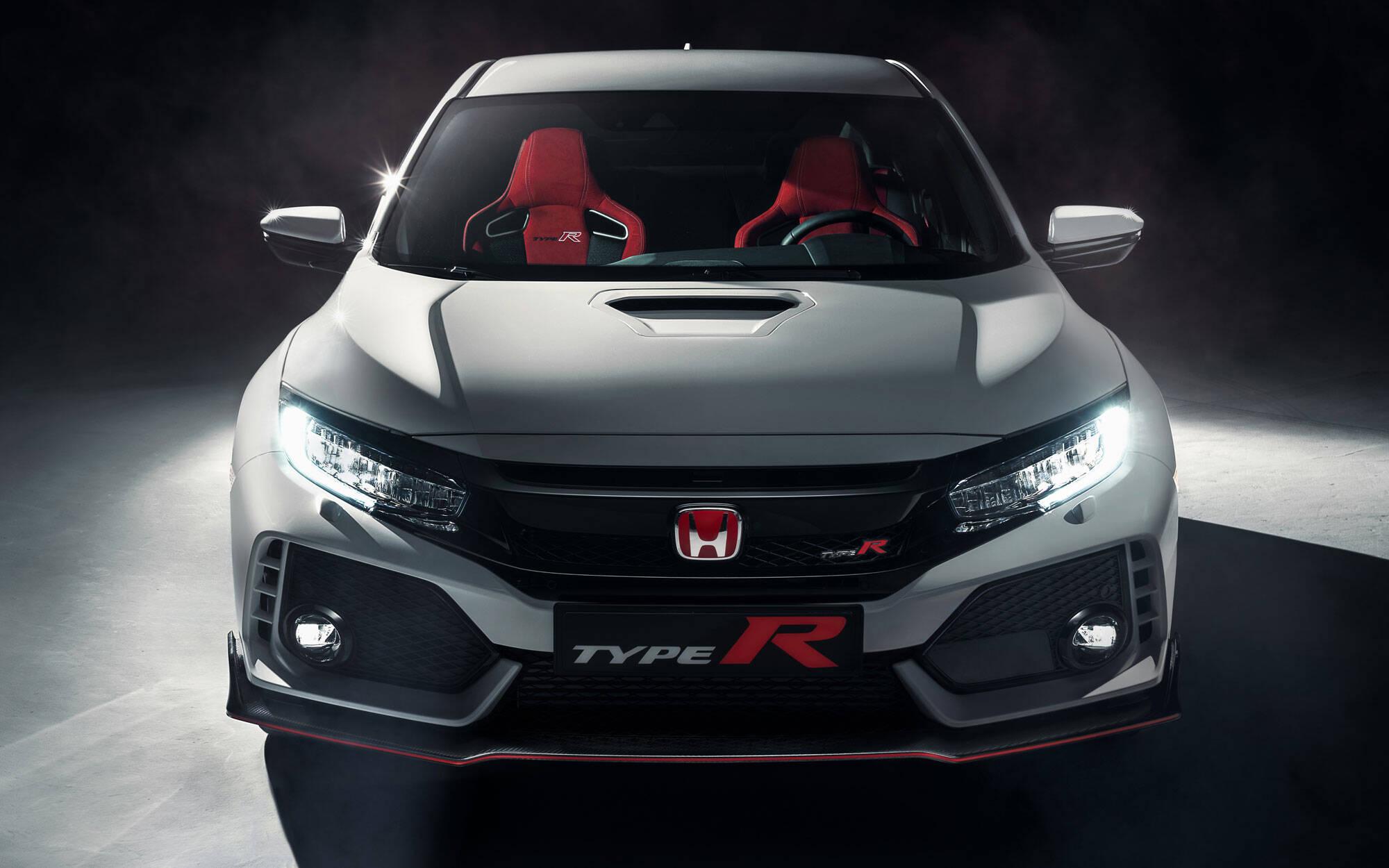 Honda Civic Type R. Foto: Divulgação/Honda