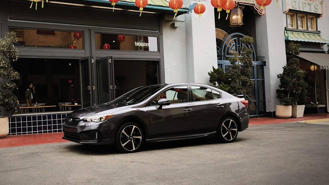 Subaru Impreza. Foto: Divulgação