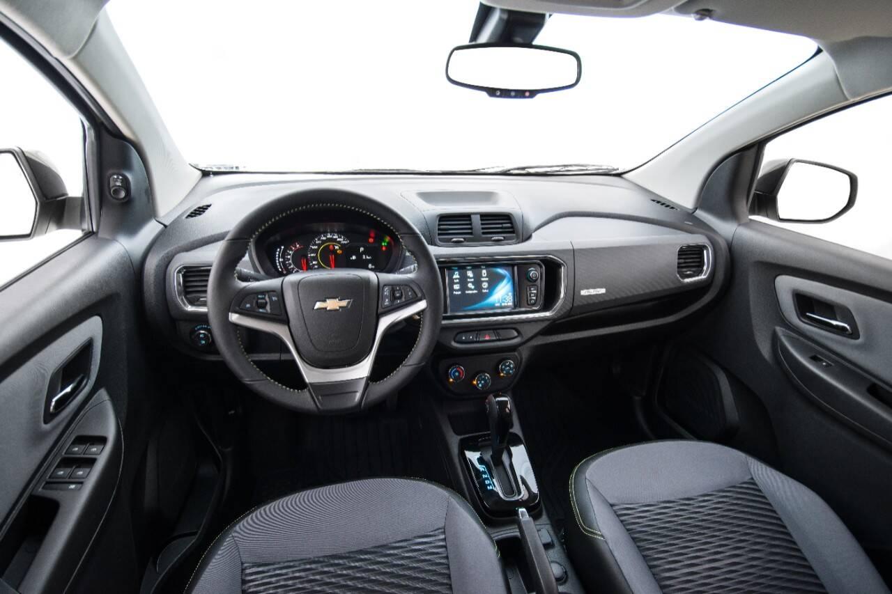 Chevrolet Spin Activ. Foto: Divulgação