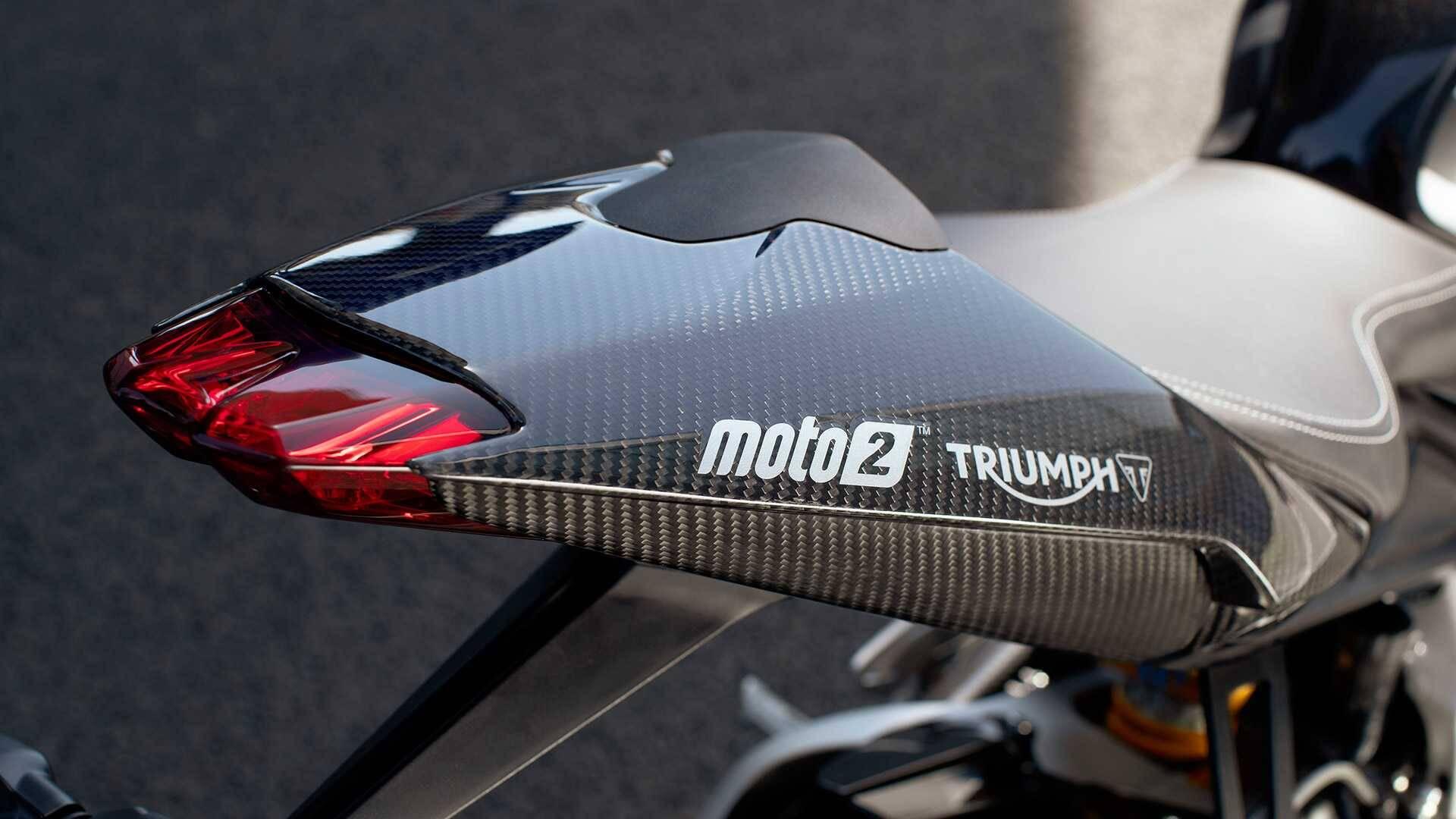 Triumph Daytona Moto2 765. Foto: Divulgação