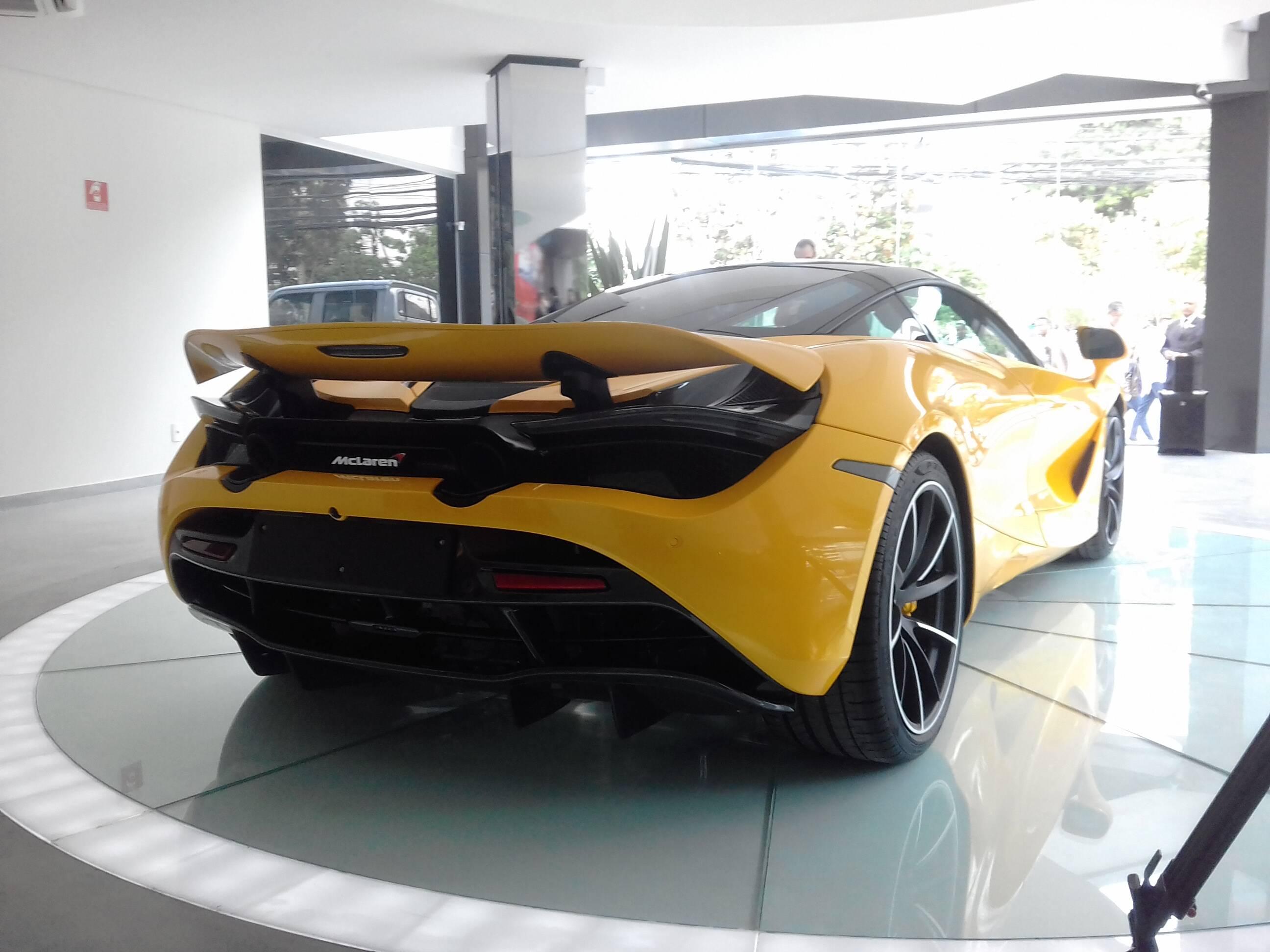 McLaren 720S. Foto: Carlos Guimarães/iG