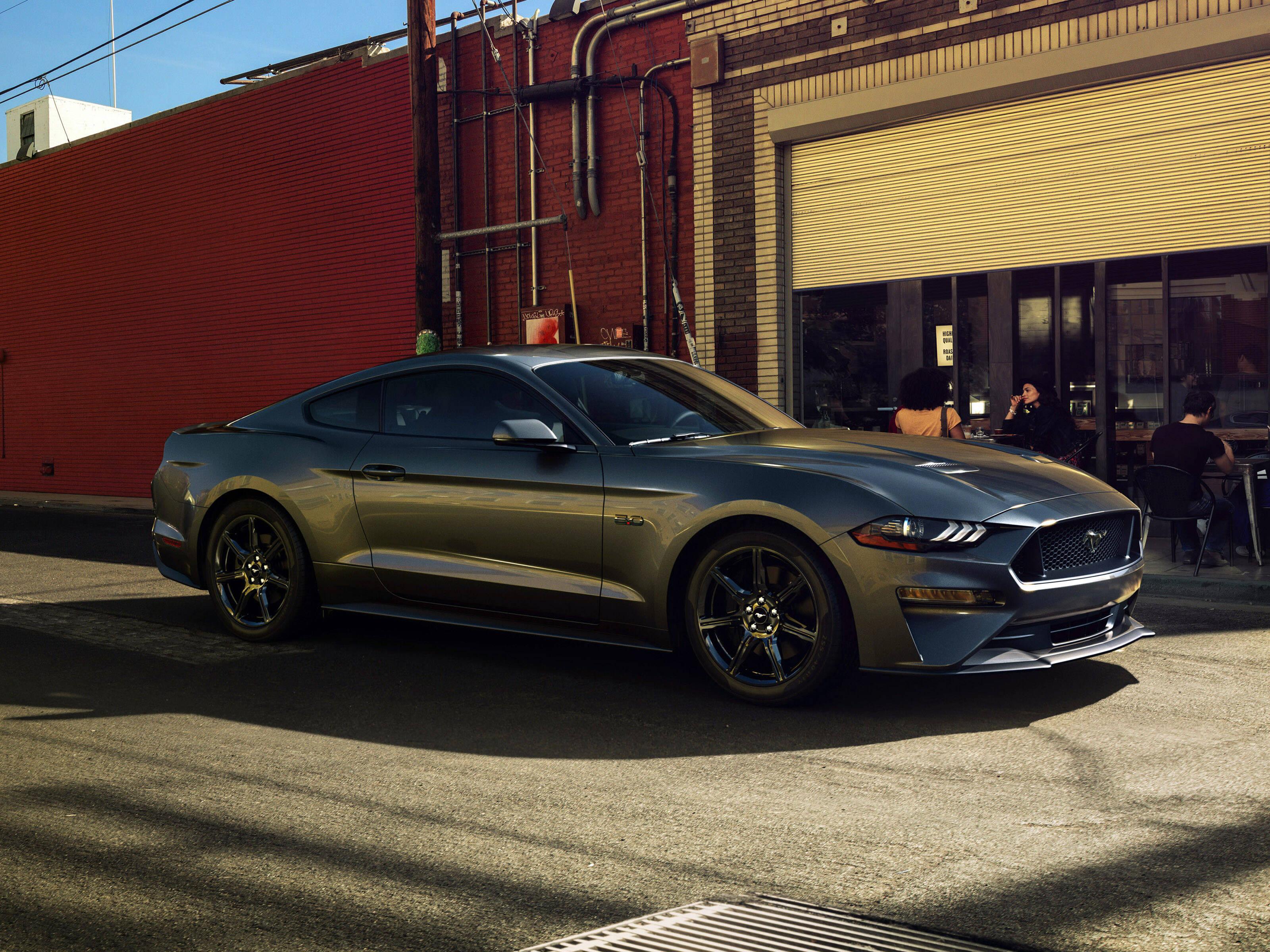 Ford Mustang GT. Foto: Divulgação