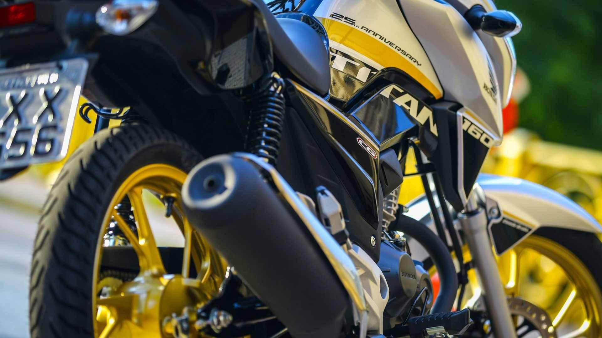 Honda CG Titan 25th. Foto: Divulgação