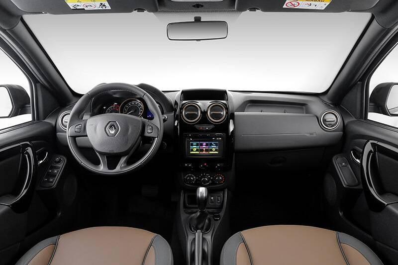 Renault Duster 1.6 CVT. Foto: Divulgação