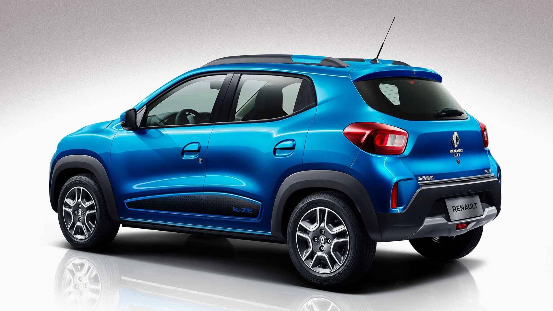 Renault K-ZE. Foto: Divulgação