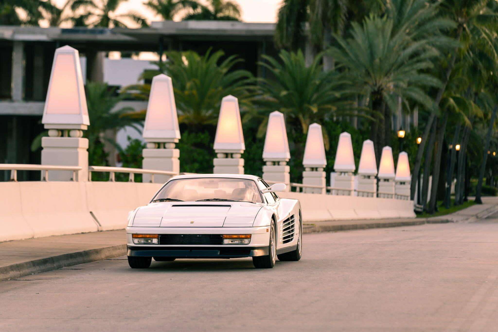 Ferrari Testarossa. Foto: Divulgação