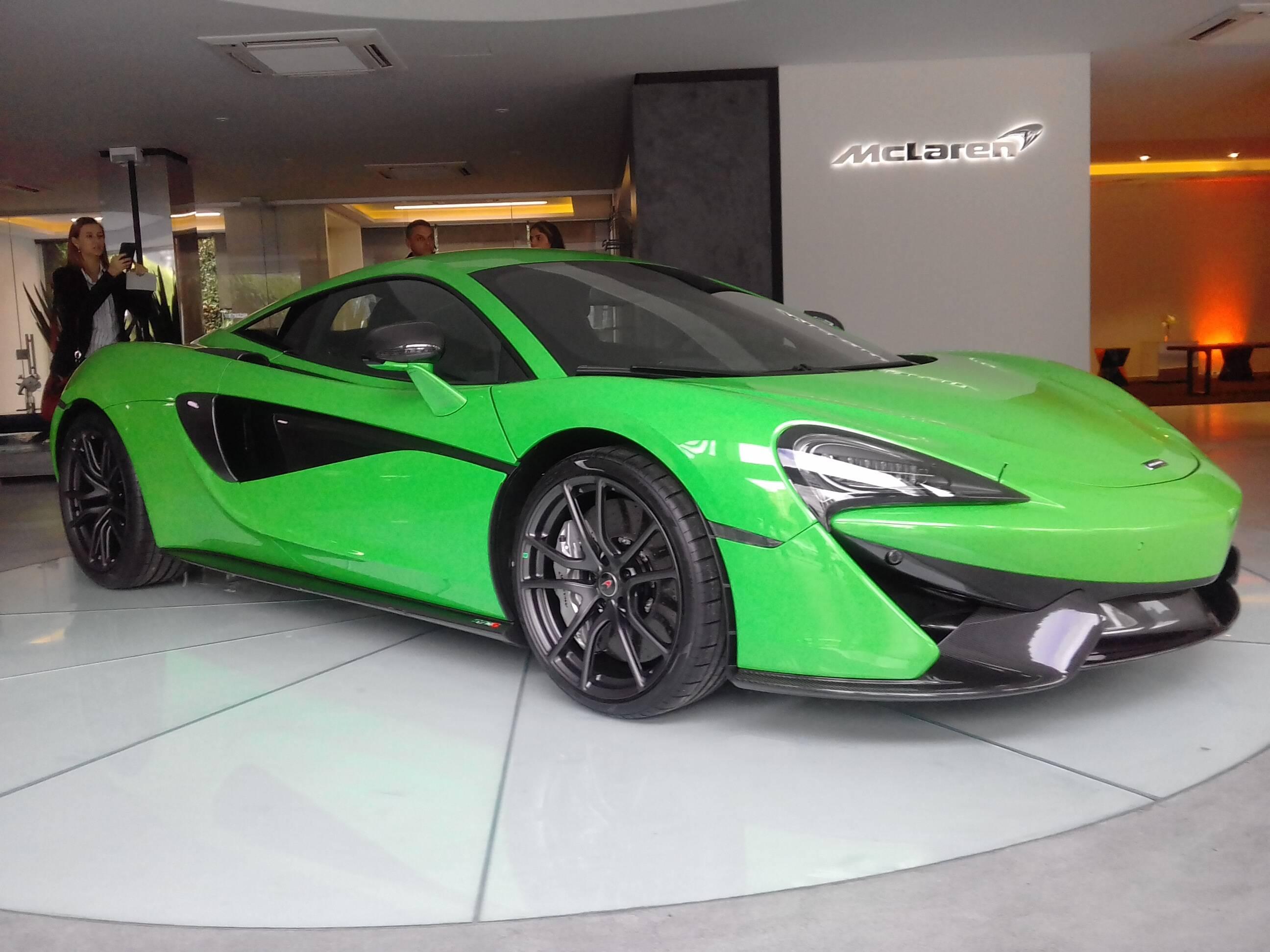 McLaren 570S. Foto: Carlos Guimarães/iG