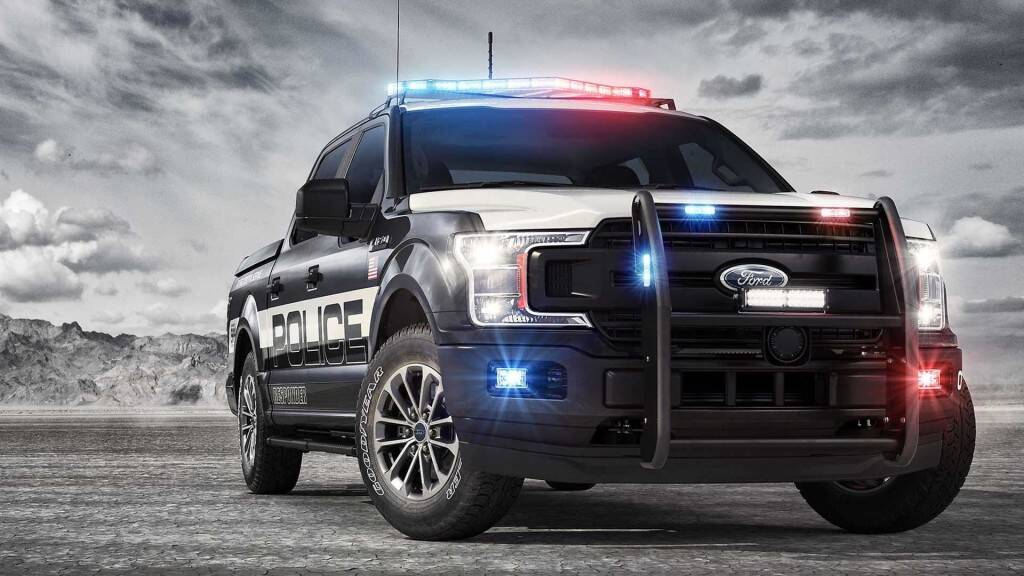 Ford F-150 Police Responder. Foto: Divulgação