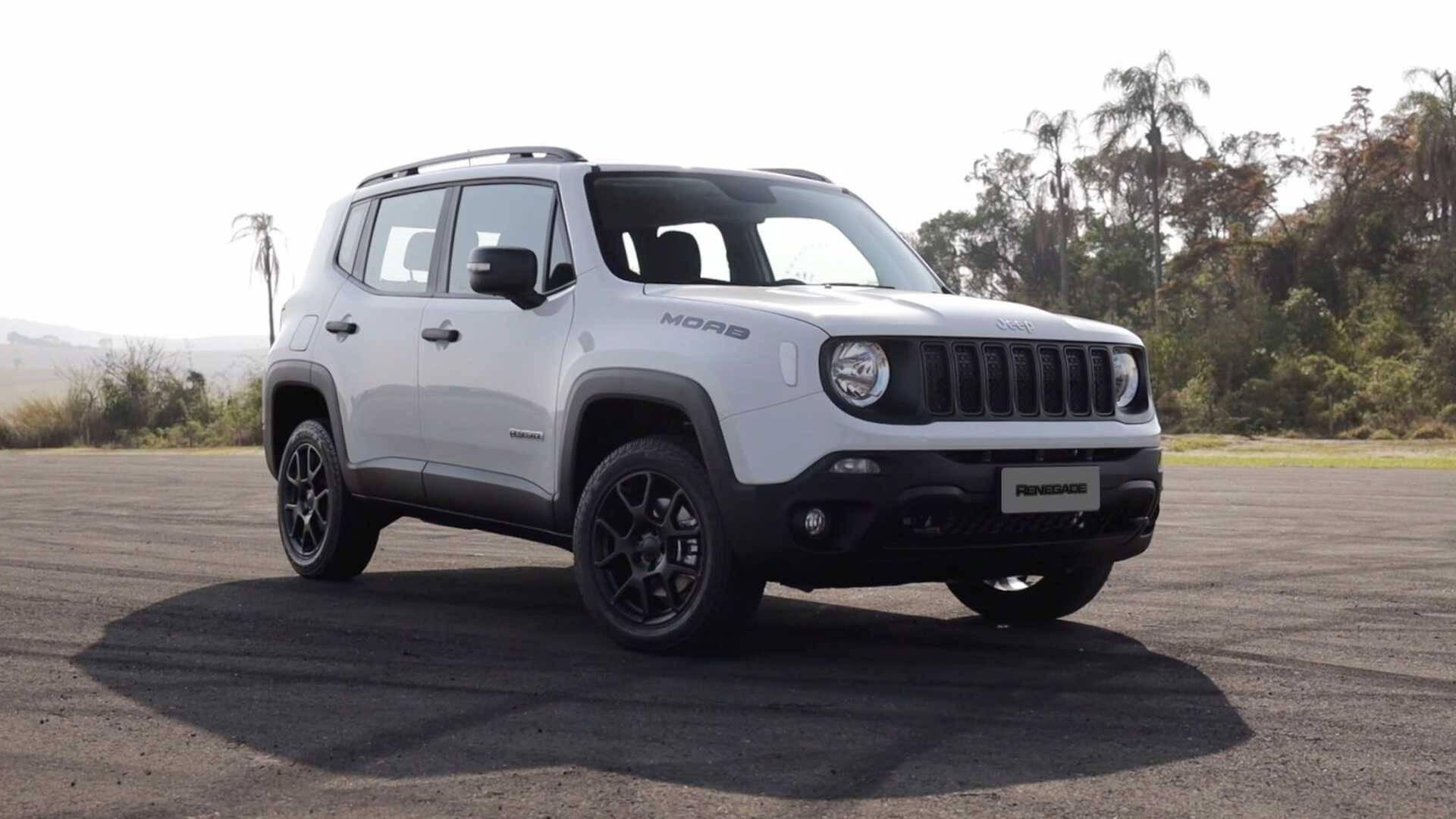 Jeep Renegade Moab 2021. Foto: Divulgação