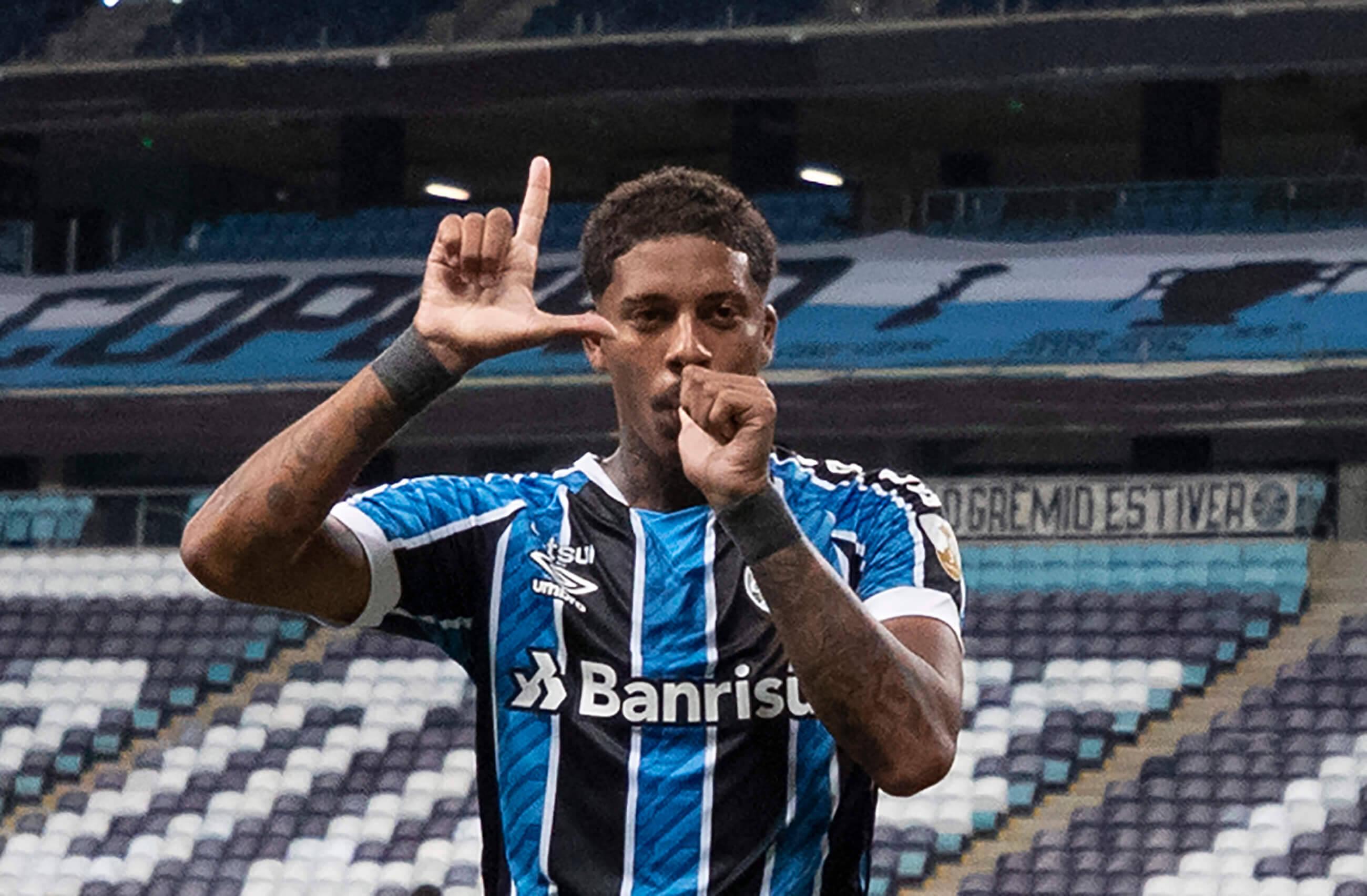Grêmio x Del Valle. Foto: Reprodução / Twitter Conmebol