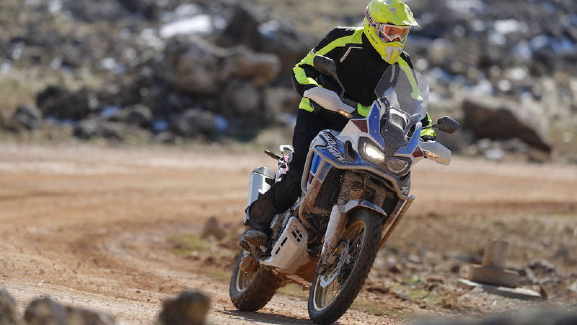 Honda Africa Twin. Foto: Divulgação