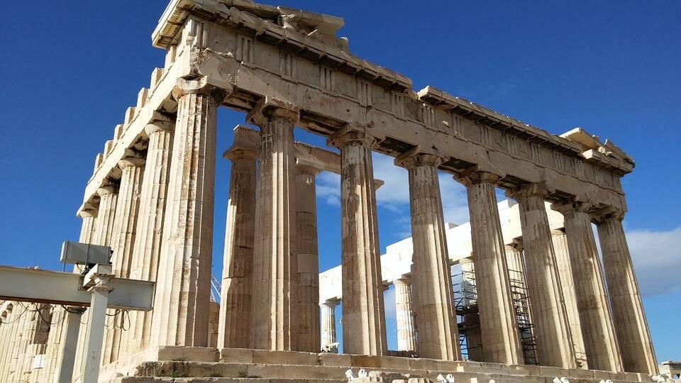 Partenon já foi igreja, mesquita e até deposito de pólvora pelos turcos. Foto: Pixabay