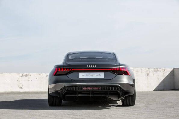 Audi e-Tron GT. Foto: Divulgação