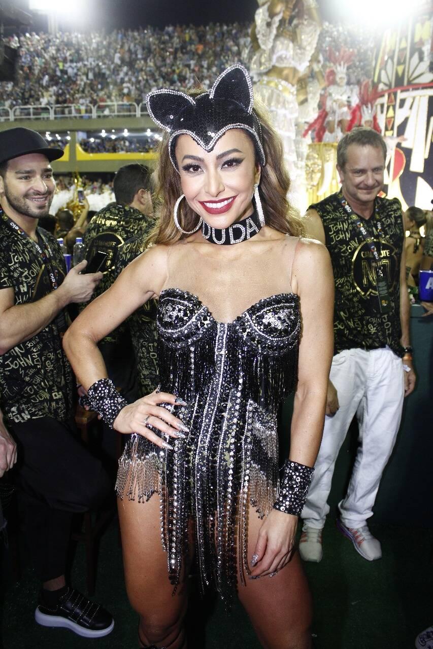 Sabrina Sato no Camarote N1 na segunda-feira (12) Rio de Janeiro. Foto: Felix Milesi-AgFPontes/Divulgação