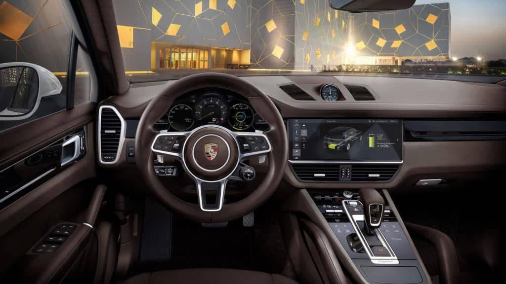 Porsche Cayenne e-Hybrid. Foto: Divulgação