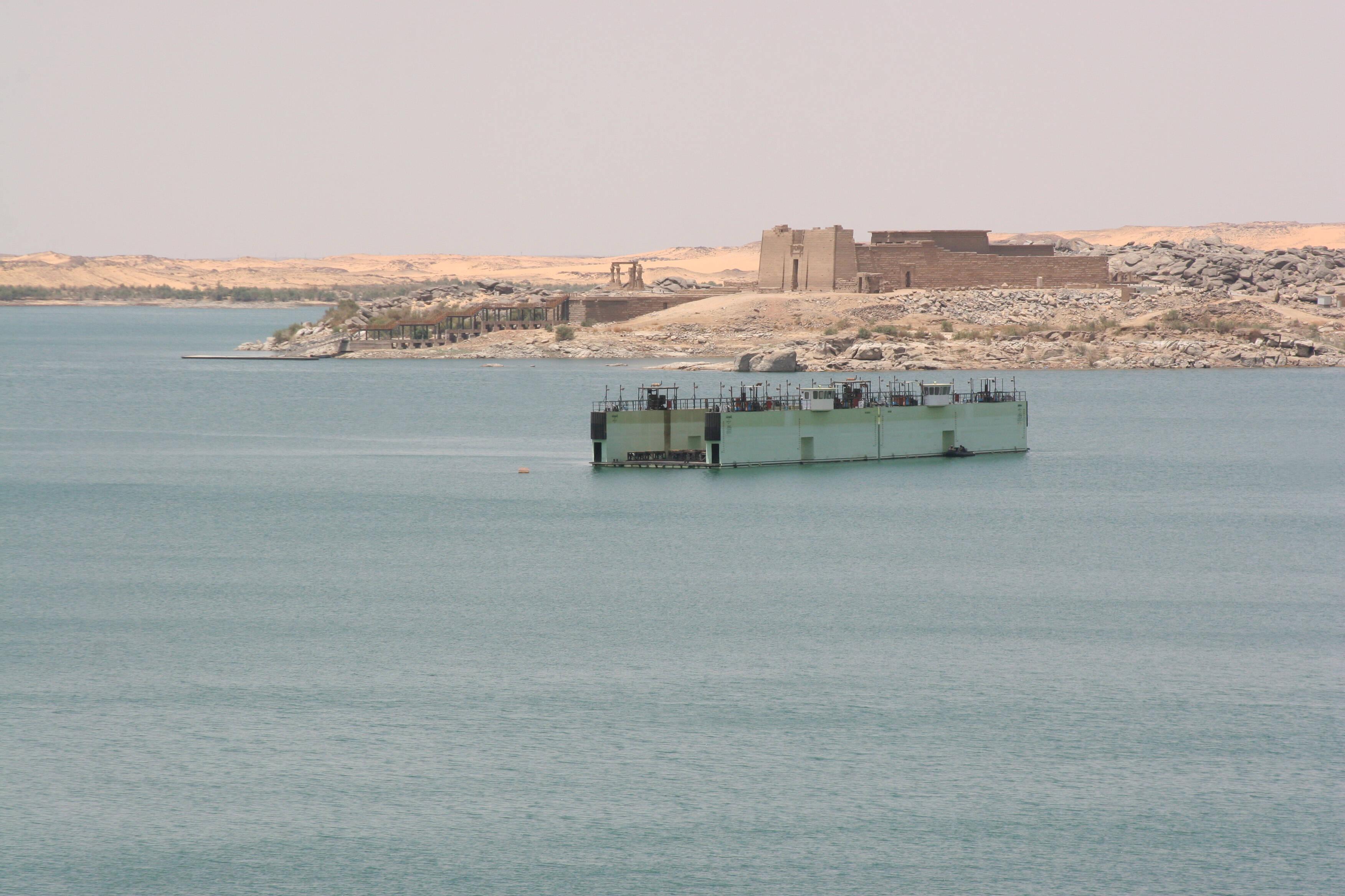 Lago Nasser, Egito. Foto: Creative Commons