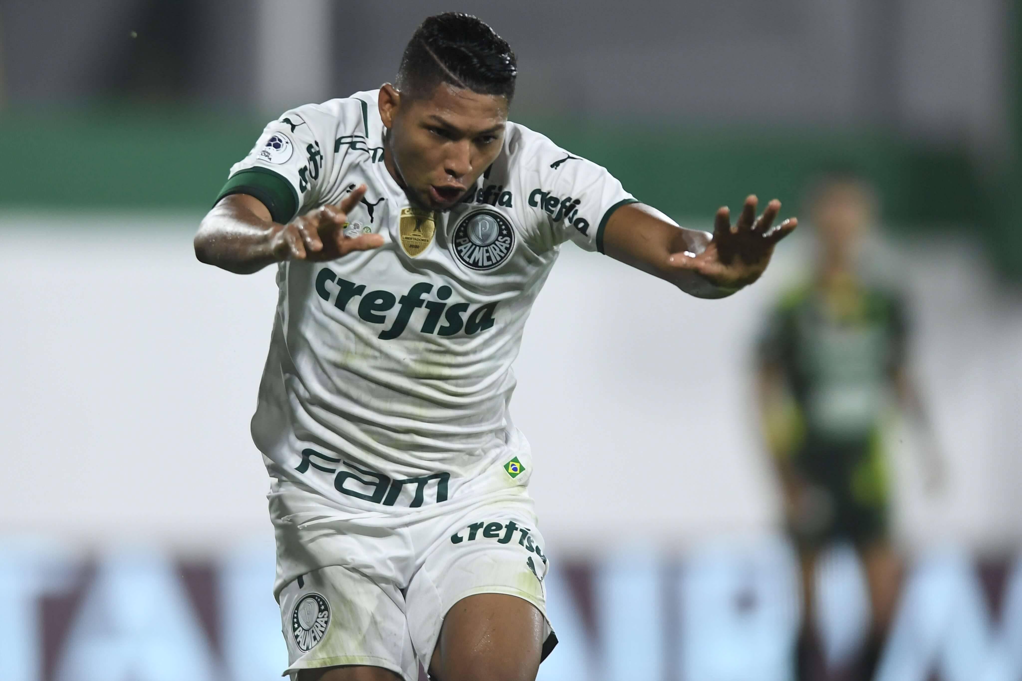 Defensa x Palmeiras. Foto: Reprodução / Twitter Conmebol