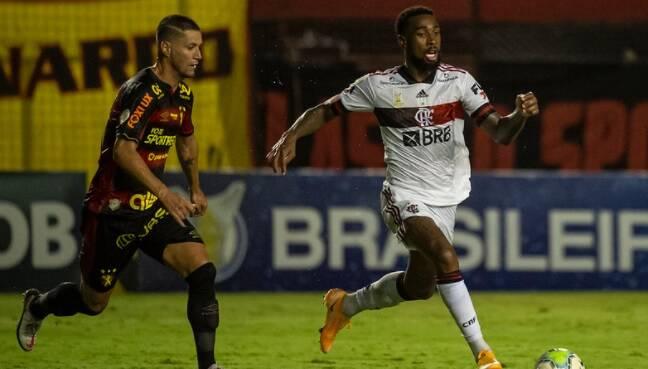 Sport x Flamengo. Foto: Alexandre Vidal / Flamengo