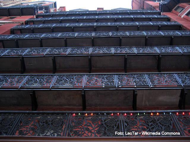 Chelsea Hotel, em Nova York. Foto: Leo Tar/Wikipedia Commons