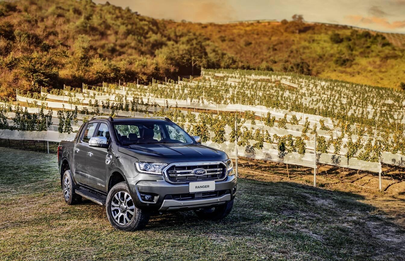 Ford Ranger 2020. Foto: Divulgação