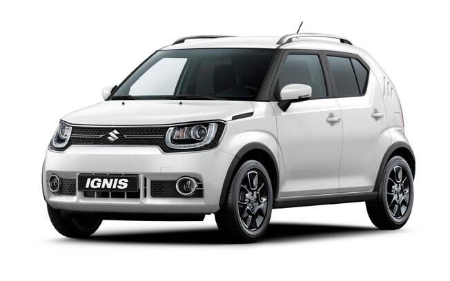 Suzuki Ignis. Foto: Divulgação