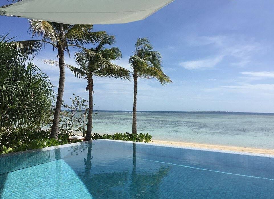 Resort mais caro do mundo . Foto: Divulgação/Banwa Private Island