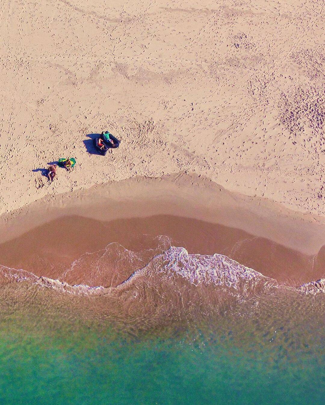 Para Felipe, tranquilidade e isolamento definem a Ilha dos Porcos. Foto: Instagram/@goabilio