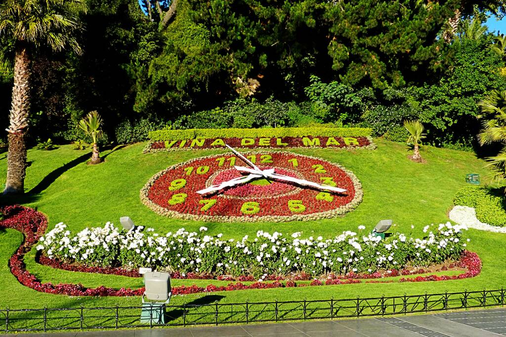 Relógio de Flores, em Viña del Mar. Foto: Reprodução. Foto: Reprodução
