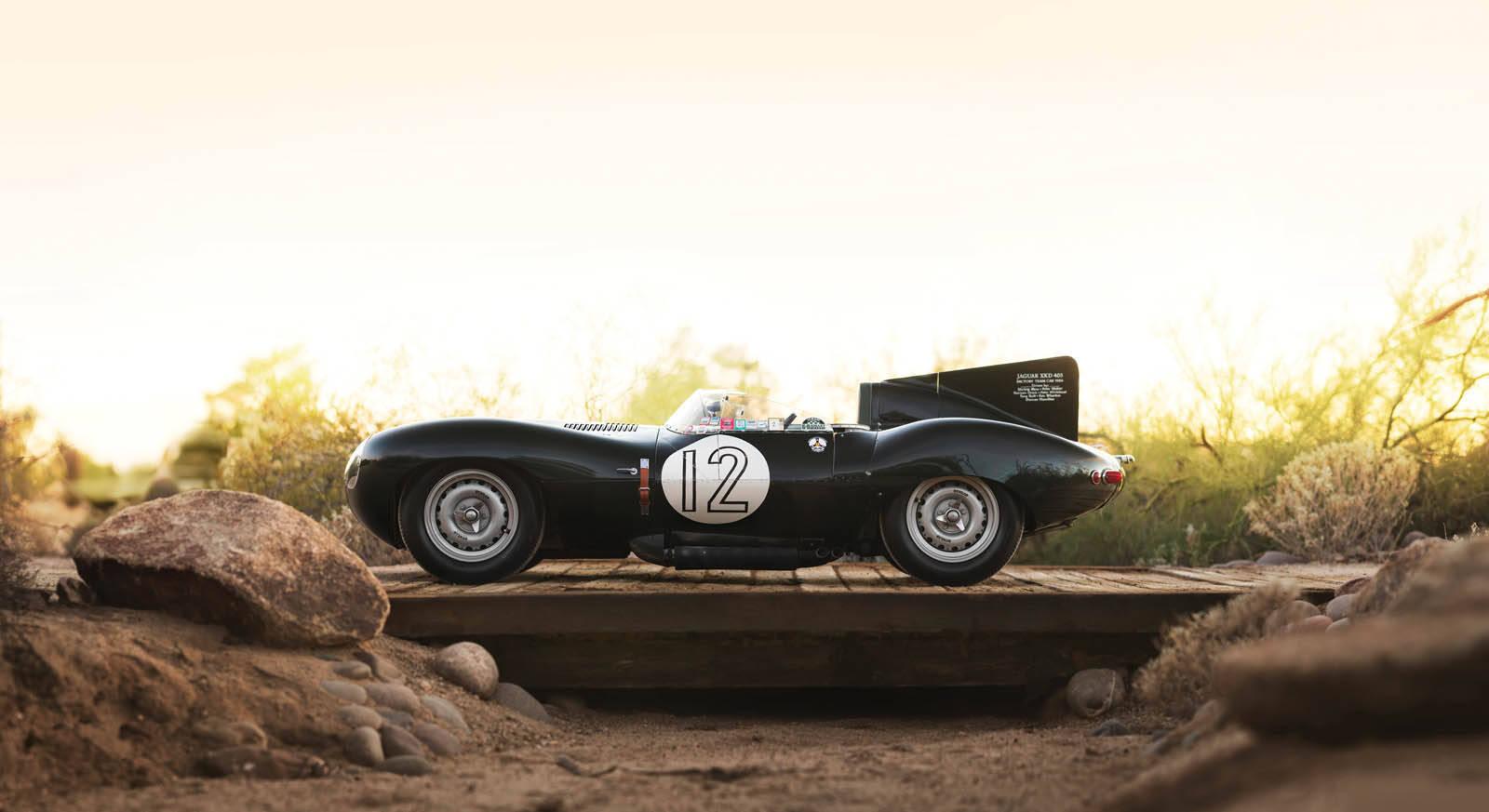 Jaguar D-Type. Foto: Divulgação