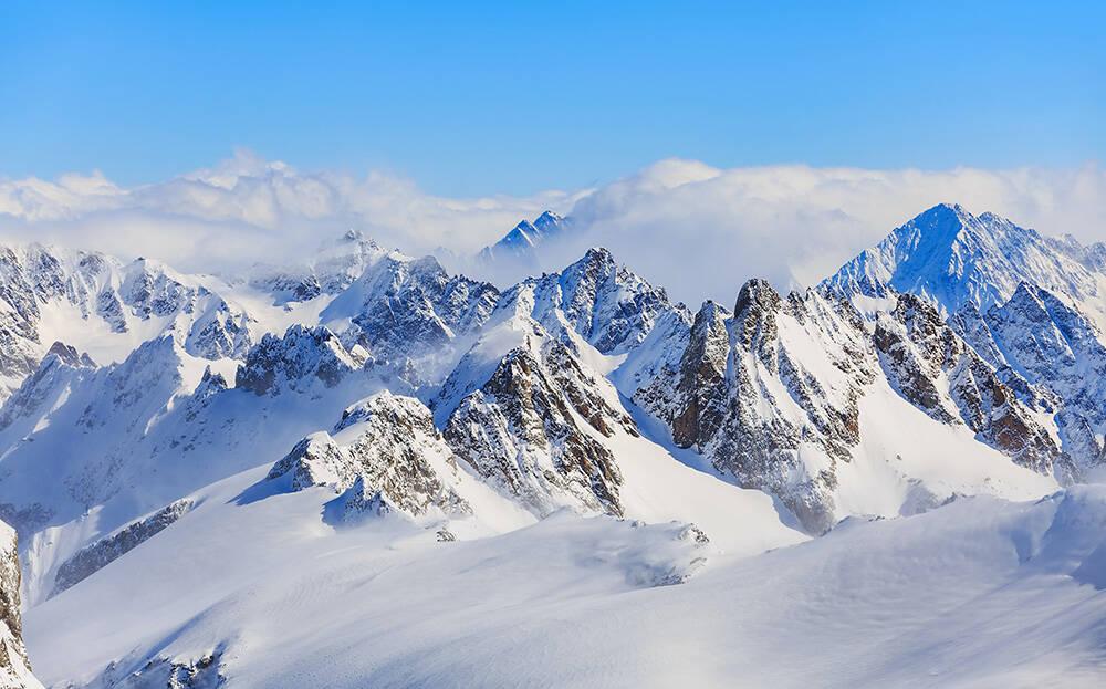 Os alpes suíços são uma das principais atrações de Engelberg, na Suíça. Foto: Denis Linine/Pexels