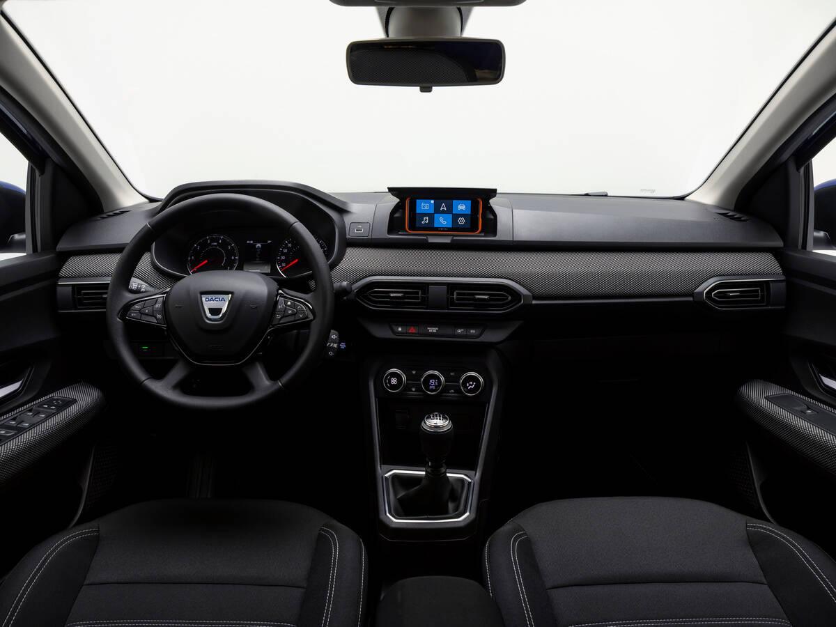 Novo Dacia Sandero. Foto: Divulgação