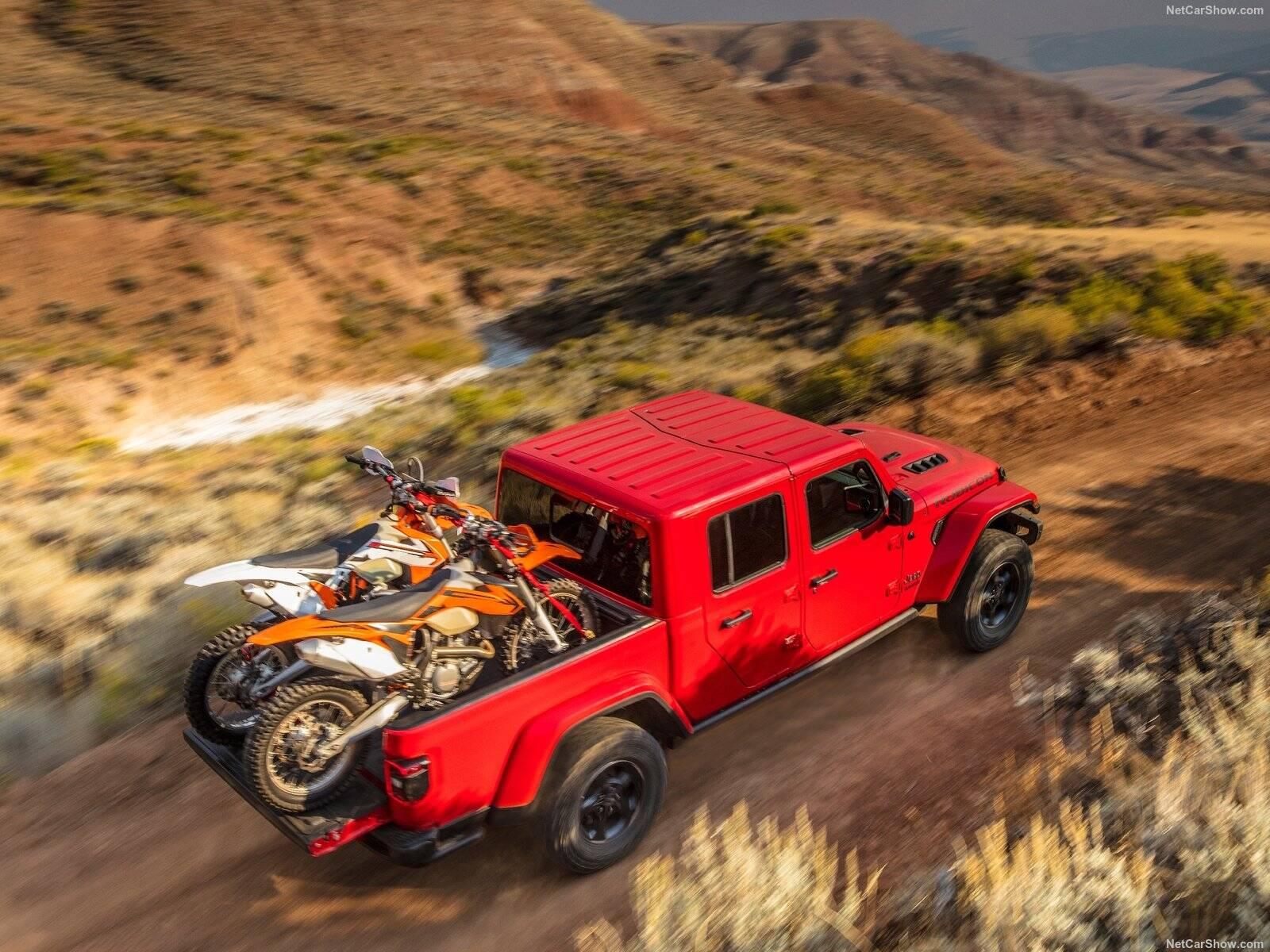 Jeep Gladiator. Foto: Divulgação
