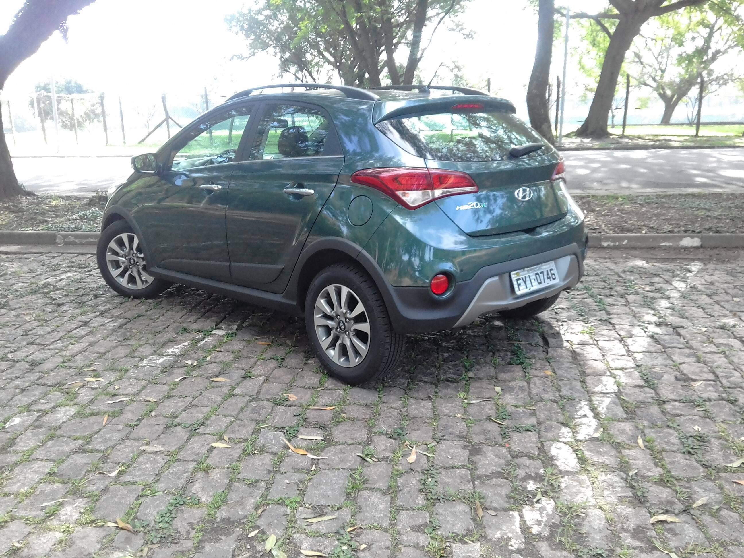 Hyundai HB20X. Foto: Divulgação