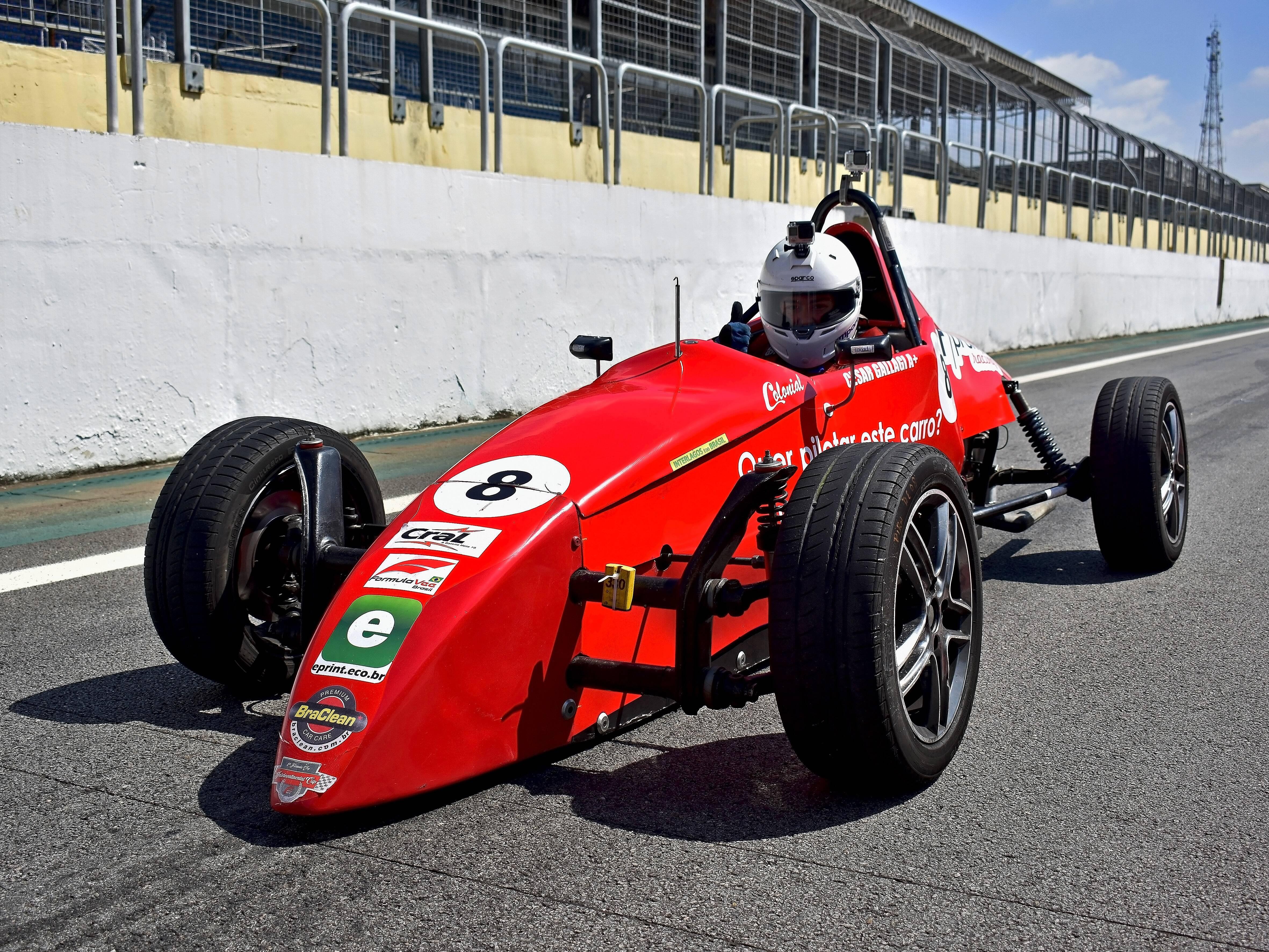 Experiência com Fórmula vee. Foto: Foto: Marcos Tadeu Batista / Velocidade em Foco