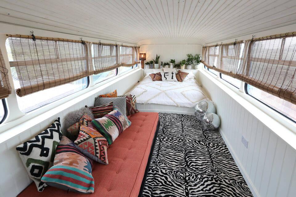 A responsável pelo alojamento afirma que o projeto foi a realização de um sonho. Foto: Reprodução/Airbnb