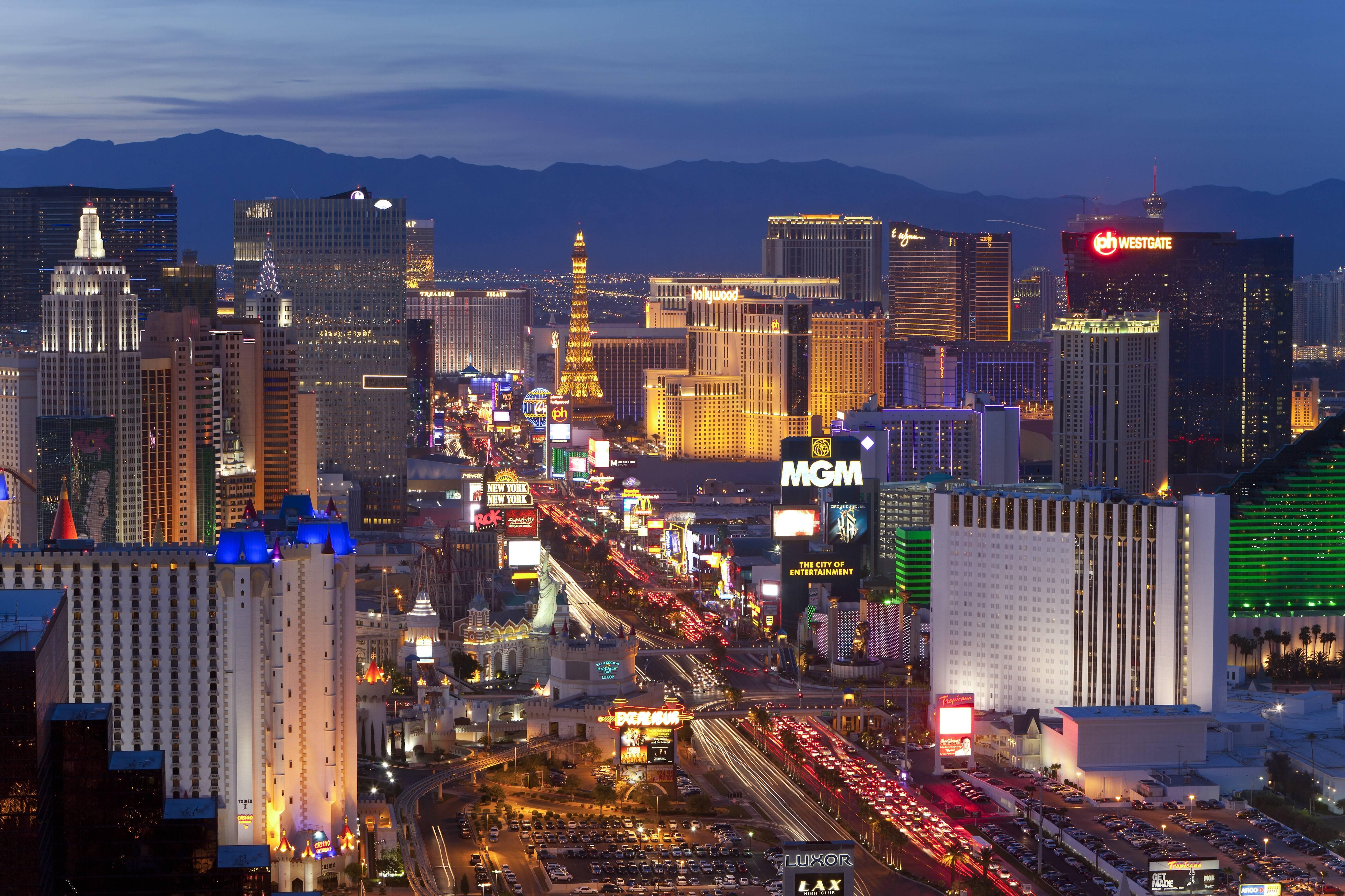 Restaurantes, hotéis, boates e passeios para todos os bolsos em Las Vegas . Foto: Getty Images