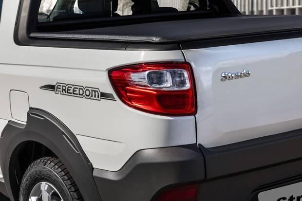 Fiat Strada Freedom Cabine Dupla. Foto: Divulgação