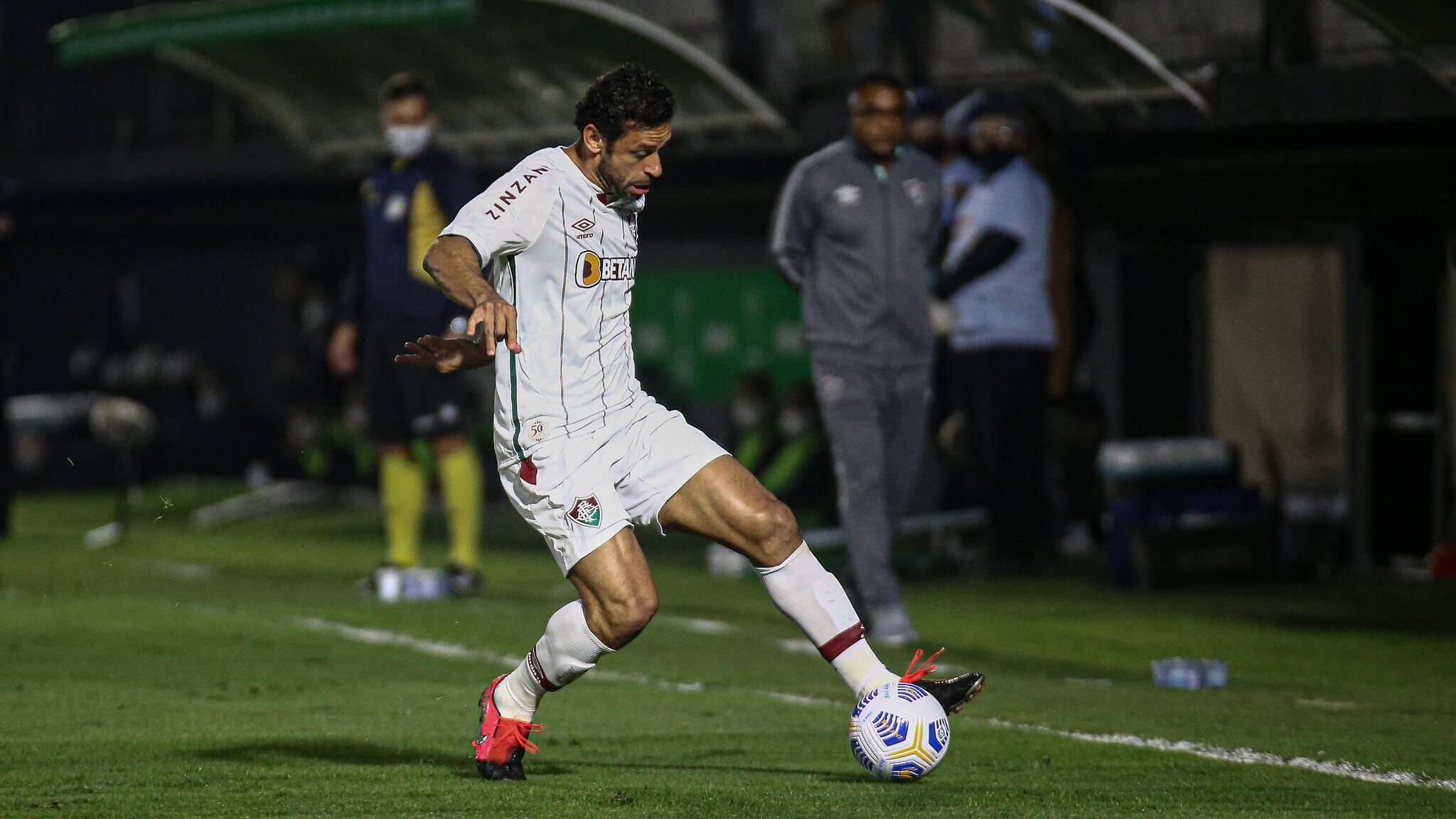 Bragantino x Fluminense. Foto: LUCAS MERÇON / FLUMINENSE F.C.